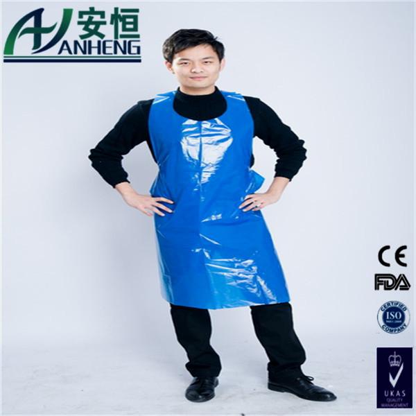Pe Aprons Disposable Long Bib Apron Plastic Kitchen Aprons