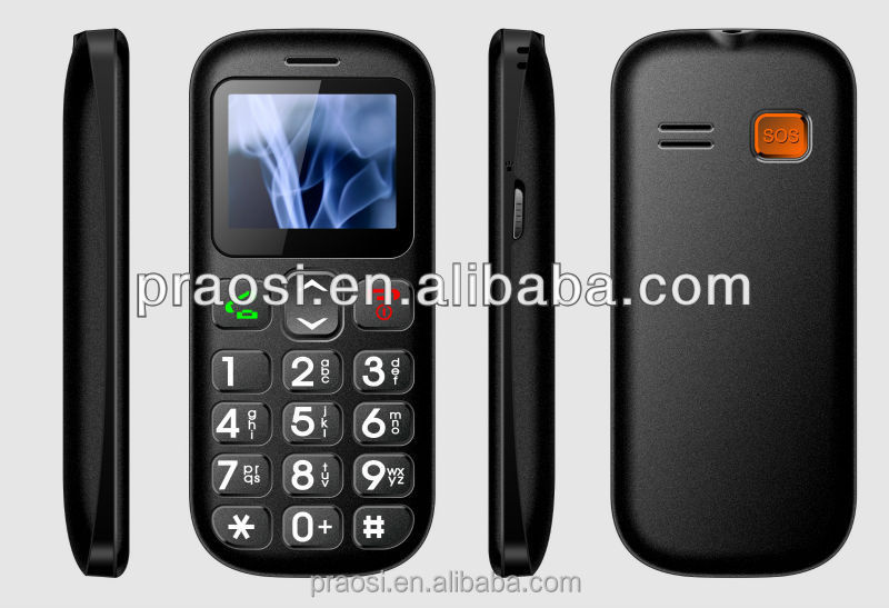 "1.77"" screen hot end unlocked GSM cheap dual sim elderly mobile phone"