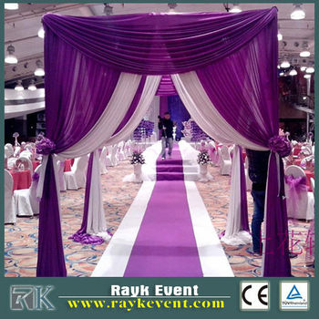 Wholesale indian wedding tent decorations  used pipe and drape for sale & Wholesale Indian Wedding Tent DecorationsUsed Pipe And Drape For ...