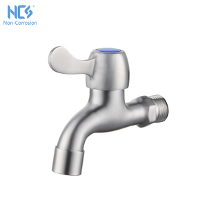 Low Price Single Handle Stainless Steel Popular Basin Water Bibcock Taps