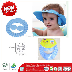 Baby Products Soft Baby Kids Children Shampoo Bath Shower Cap Hat bathing baby shower shapmpoo hat
