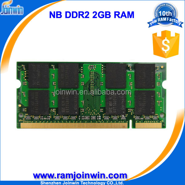 Retail and online 128mbx8 ddr ram ddr2 2gb 800 laptop