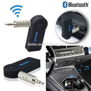 car Bluetooth Music Audio Stereo Adapter Receiver for Car AUX IN Home Speaker MP3 P4