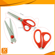 FDA high quality stainless steel student paper cutting scissors