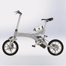2018 new patent aluminium folding E-bike