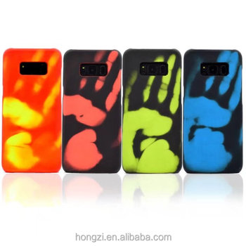 variable temperatur nach finger mark w rmeempfindlichen innovative materialien telefon. Black Bedroom Furniture Sets. Home Design Ideas
