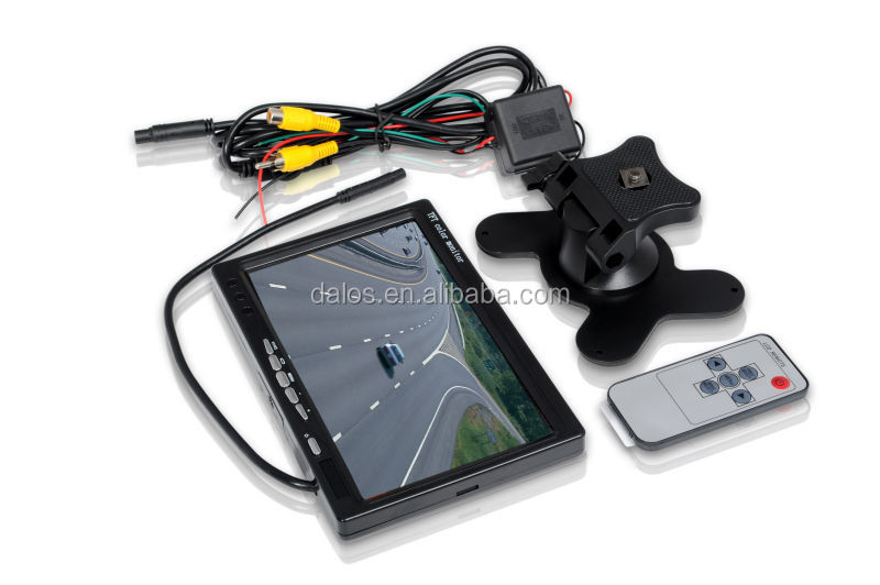 "Car lcd monitor parking/car tft lcd monitor/7"" ultra-thin tft lcd car monitor"