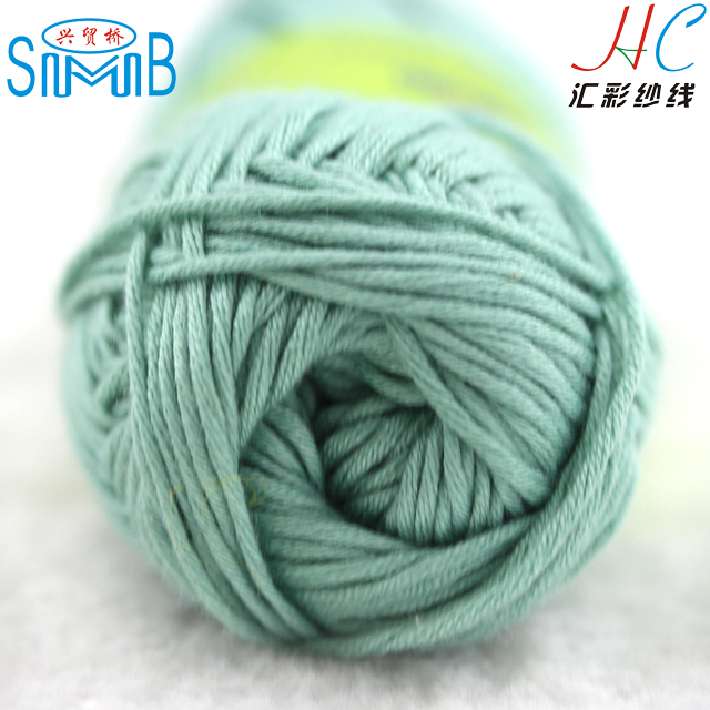 suzhou huicai wholesale textiles wholesale bamboo cotton mixed yarn for hand knitting 8 ply bamboo yarn