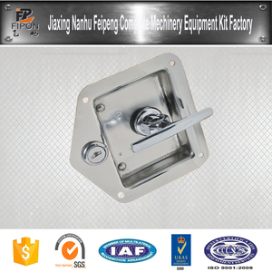 Stainless Steel Folding T Handle Lock UTe Tray Body