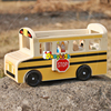 2017 Wholesale kids wooden travel bus toys new design children bus toys top fashion toddlers wooden bus toys W04A340