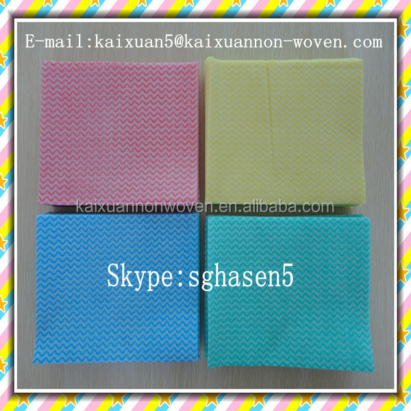 [bsci factory] 30x38cm nonwoven spunlace disposable duster cloth is very popular in poland/nonwoven cloth