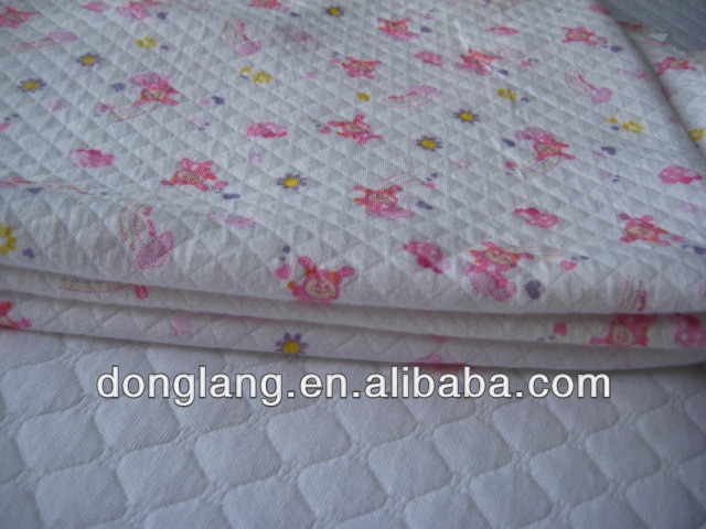 TPU laminated waterproof air layer fabric for mattress protector