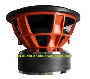 "Competition car subwoofer big power 15"" car subwoofer with huge motor,4000W RMS /8000W Max power SPL15 car subwoofer"