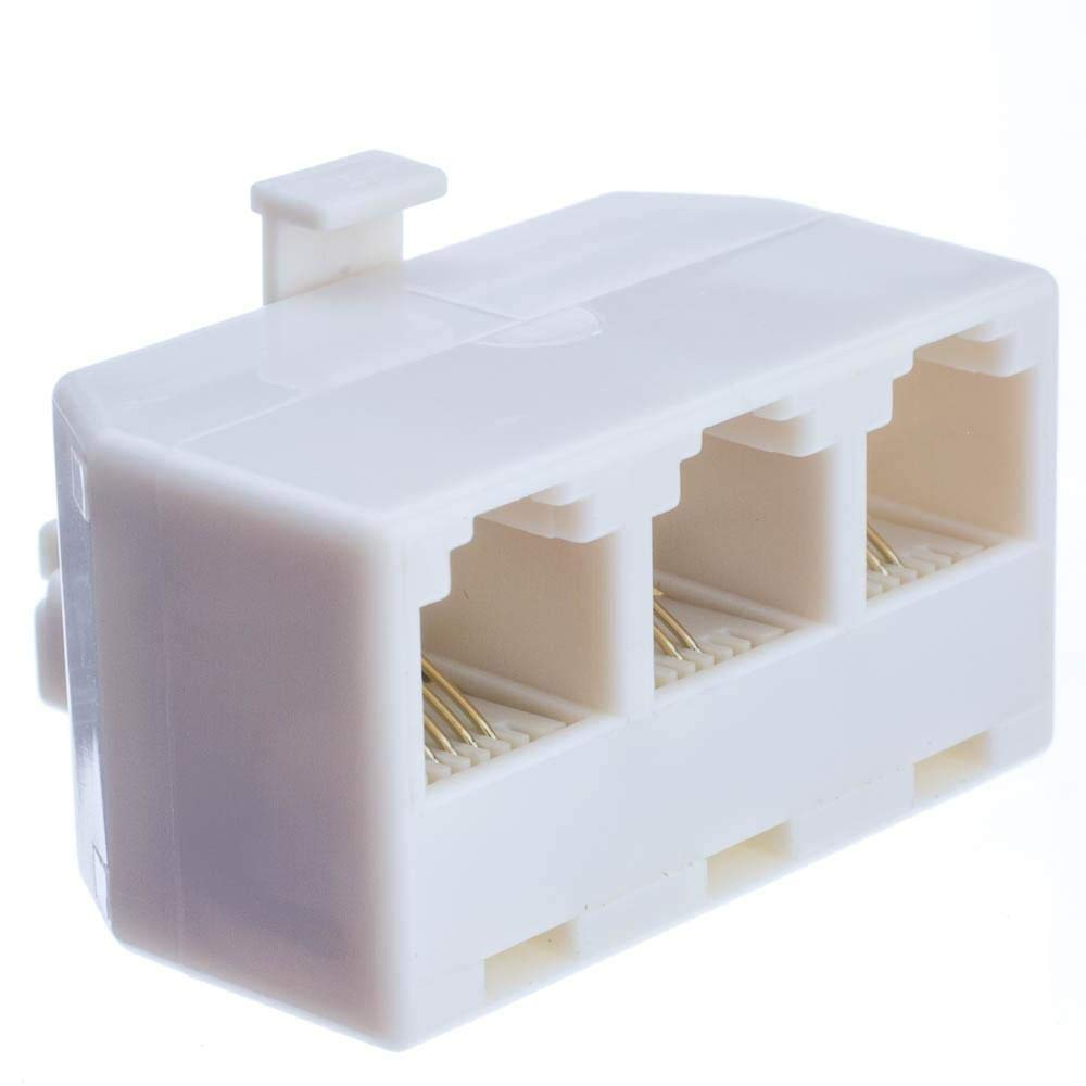 Cheap Telephone Jack Rj11 Find Deals On Line At Rj 14 Wiring Get Quotations Gowos Separator Rj12 Male To 3 Female