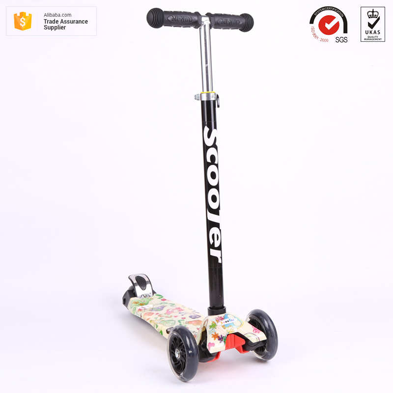 New Most popular high quality Aluminum alloy folding 4 PU/TPR wheels child kick baby scooter