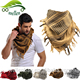 Fashion Outdoor Men Women Cotton Military Shemagh Thicken Muslim Hijab Multifunction Tactical Arabic Keffiyeh Scarf