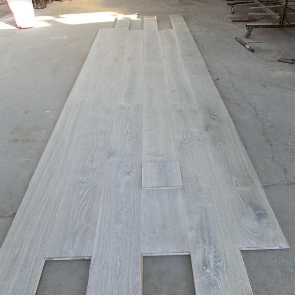 New Design Multilayer Grey Engineered Hardwood Floor View Grey