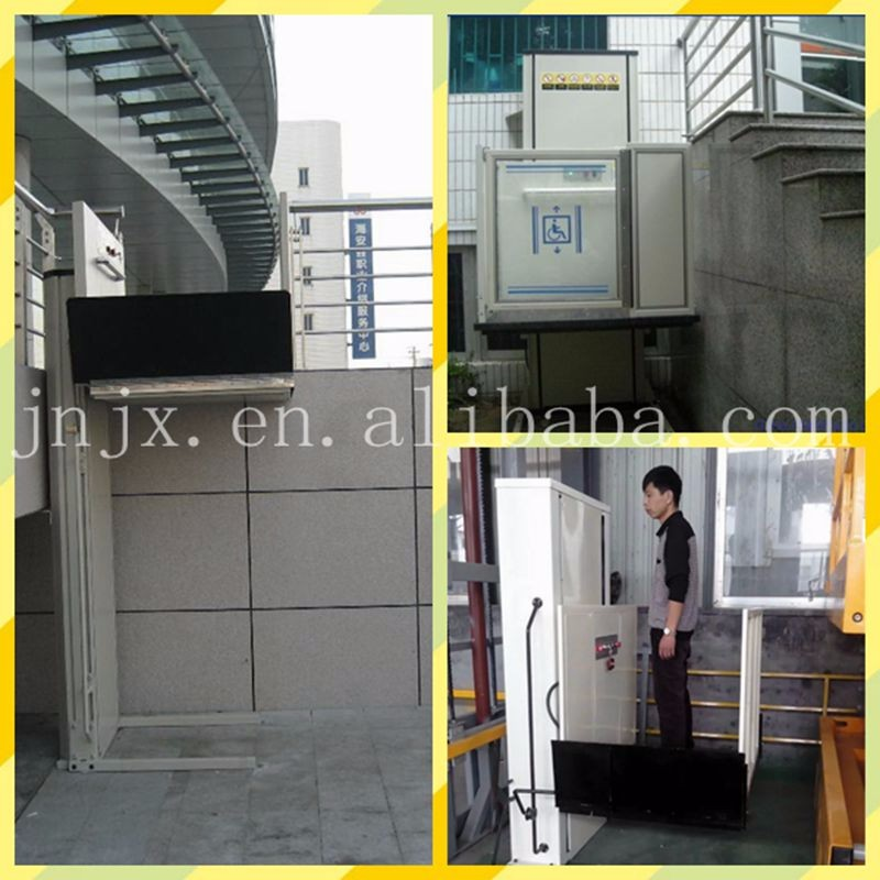 A floor elevator small elevator indoor man lift buy for Indoor elevator