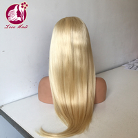 180% Density body wave unprocessed brazilian 100 human hair lace front wig pre plucked 150-250g enough weight