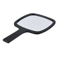 Custom Logo Single Side Decorative Makeup Hand Held Mirror