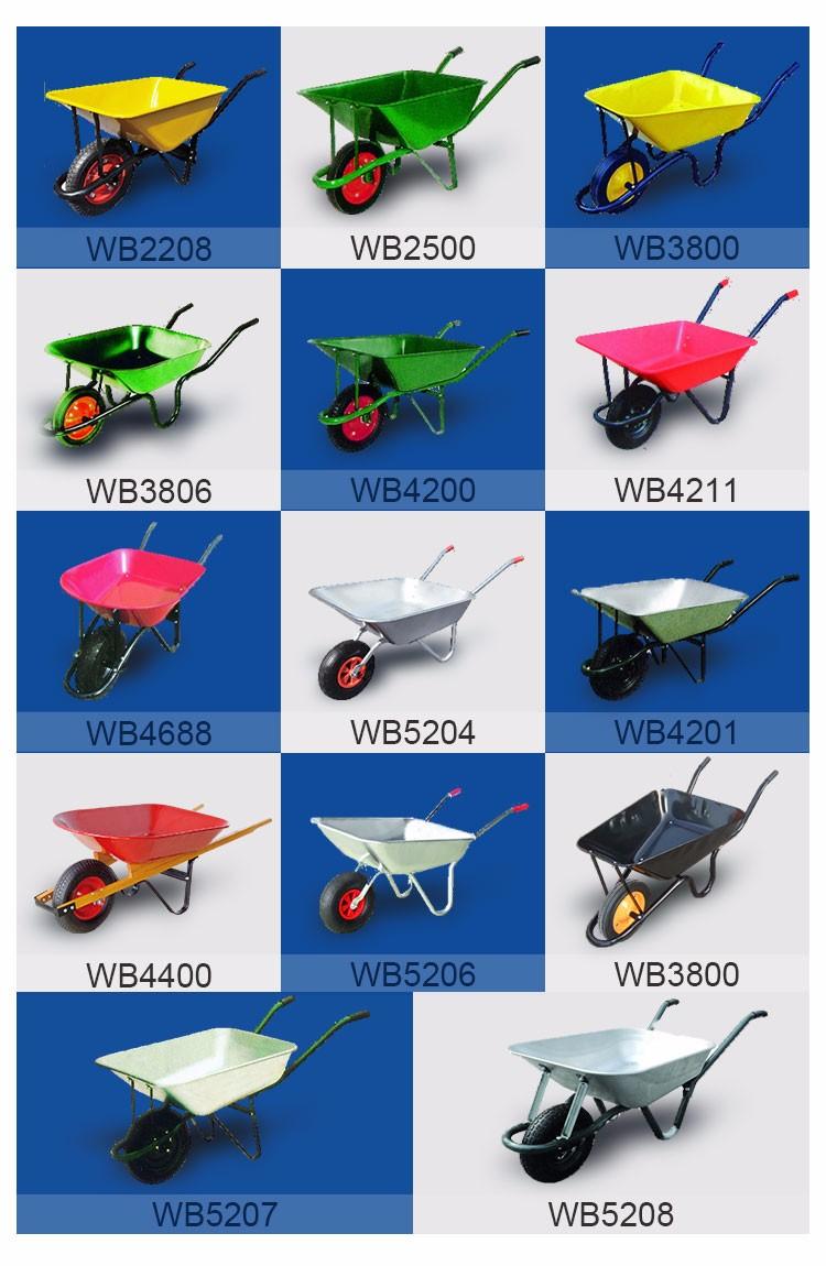 Roda Do Carrinho de Mão 78L WB7501