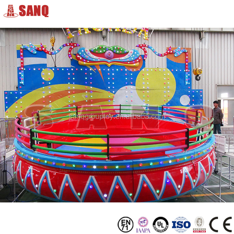 Kids attractions Amusement park mini disco tagada for sale