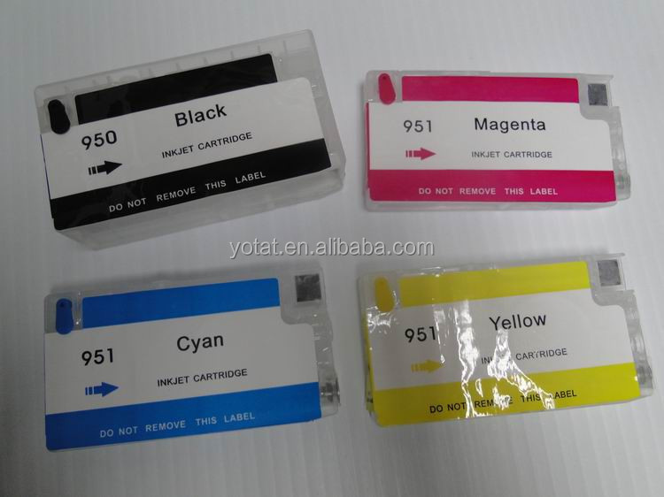 For hp 951 950 inkjet cartridge, refillable cartridge 950/951 for HP