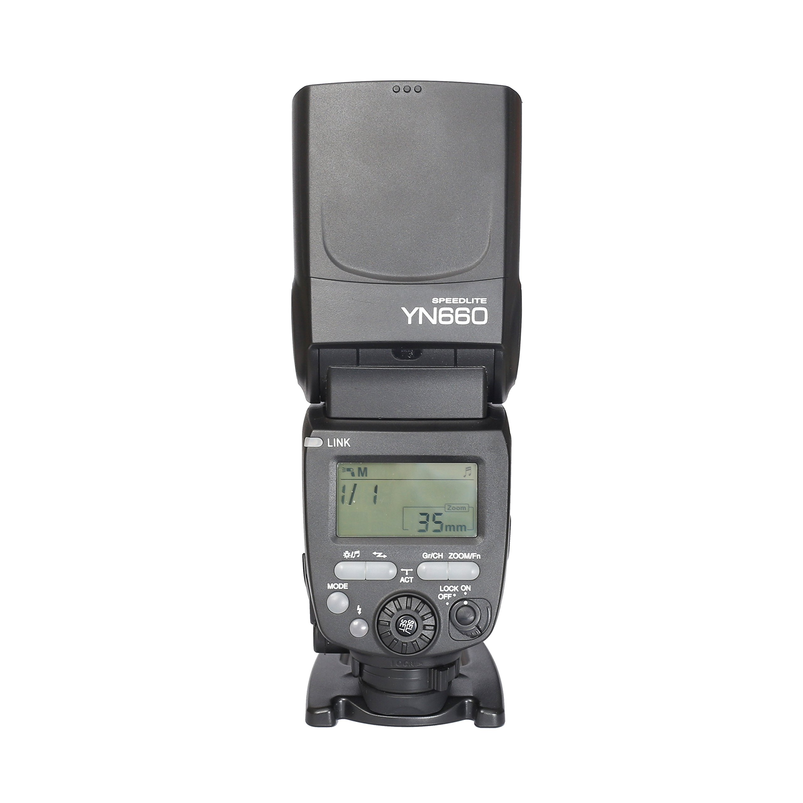 YONGNUO YN660 Wireless Manual Flash Speedlite GN66 2.4G Wireless Radio Master+ Slave for Canon Nikon Pentax Olympus
