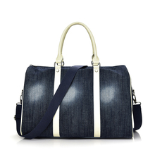 2018 nouveau style <span class=keywords><strong>sac</strong></span> de haute qualité <span class=keywords><strong>denim</strong></span> <span class=keywords><strong>sac</strong></span> de <span class=keywords><strong>voyage</strong></span> femmes