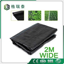 black with green direct line 10-12 years uv protect pp weed mat