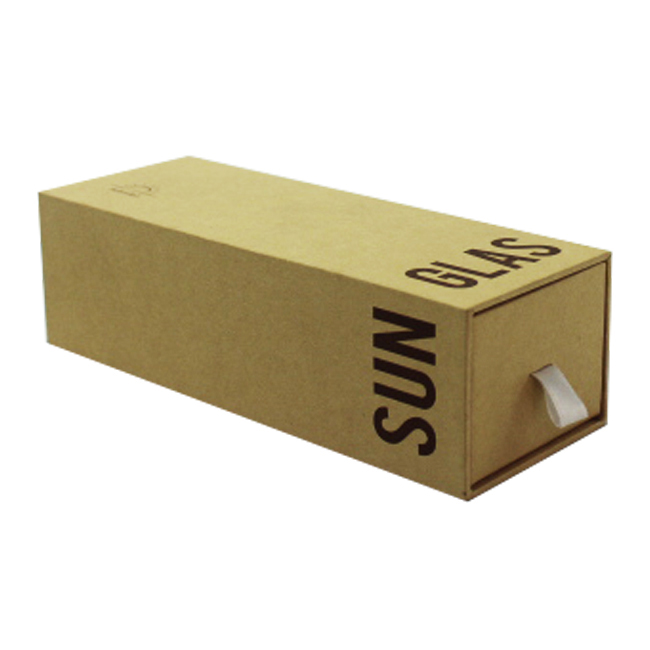 Custom Drawer Style Brown Kraft Paper Gift Box With Sleeve