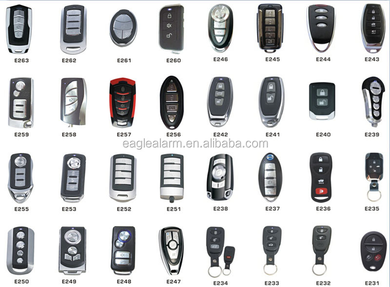 iran manual easy install car alarm wtih anto