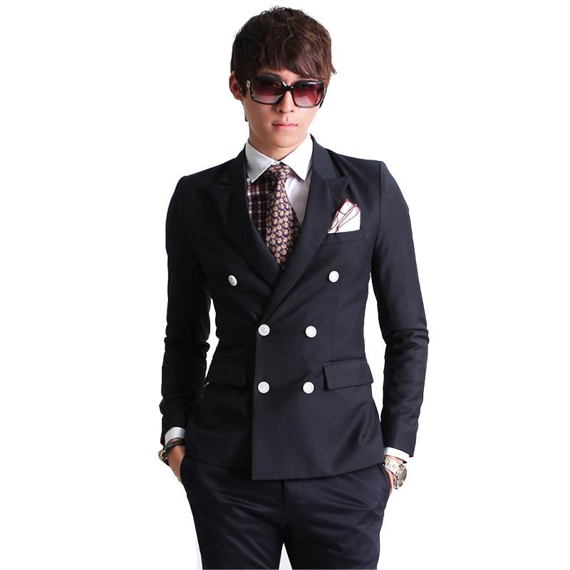 Wholesale slim casual suits men - Online Buy Best slim casual ...