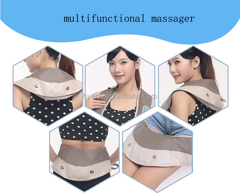 heating and kneading massage shawl neck and shoulder pain relief massage belt Frozen Shoulder heat pad