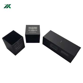 High Quality luxury Candle Packaging Gift Box inserts
