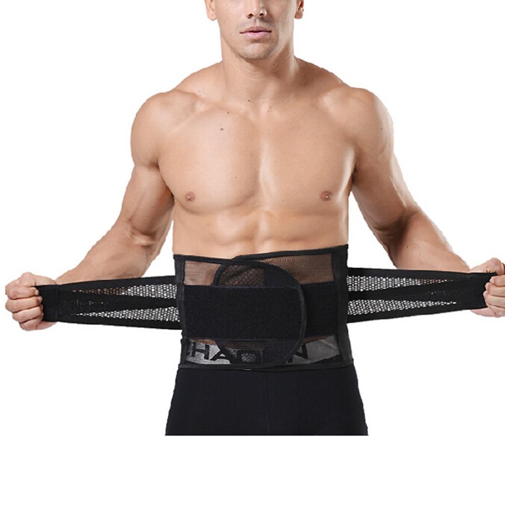 1cce9bd109 Get Quotations · Adjustable Mesh Breathable Beer Belly Waist Tummy Trimmer  Elastic Slimming Belt  Exercise Belt  Tummy