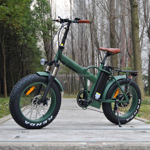 2018 Best selling Fat electric bicycle folding beach ebike
