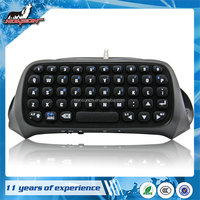 Gaming Keypad Bluetooth Mini Wireless Message Keyboard for PS4 Controller