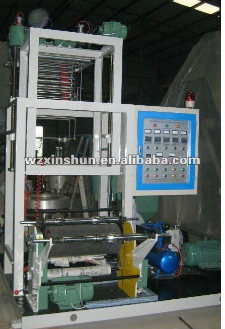 Pe Mini Plastic Flim Making Machine