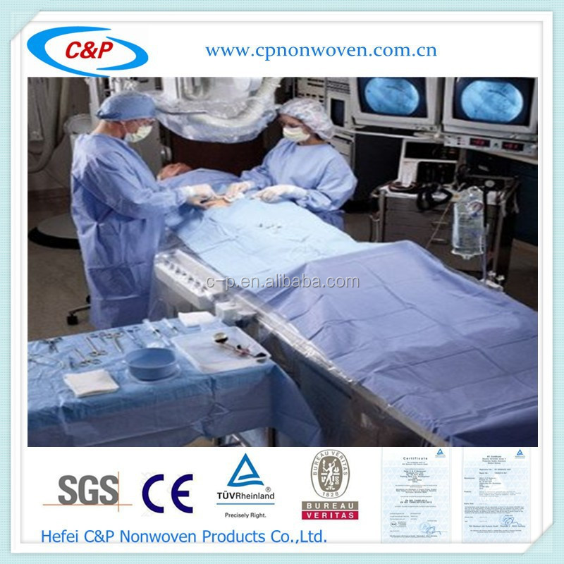 Disposable Surgery Laparoscopic Cholecystectomy Drape Pack