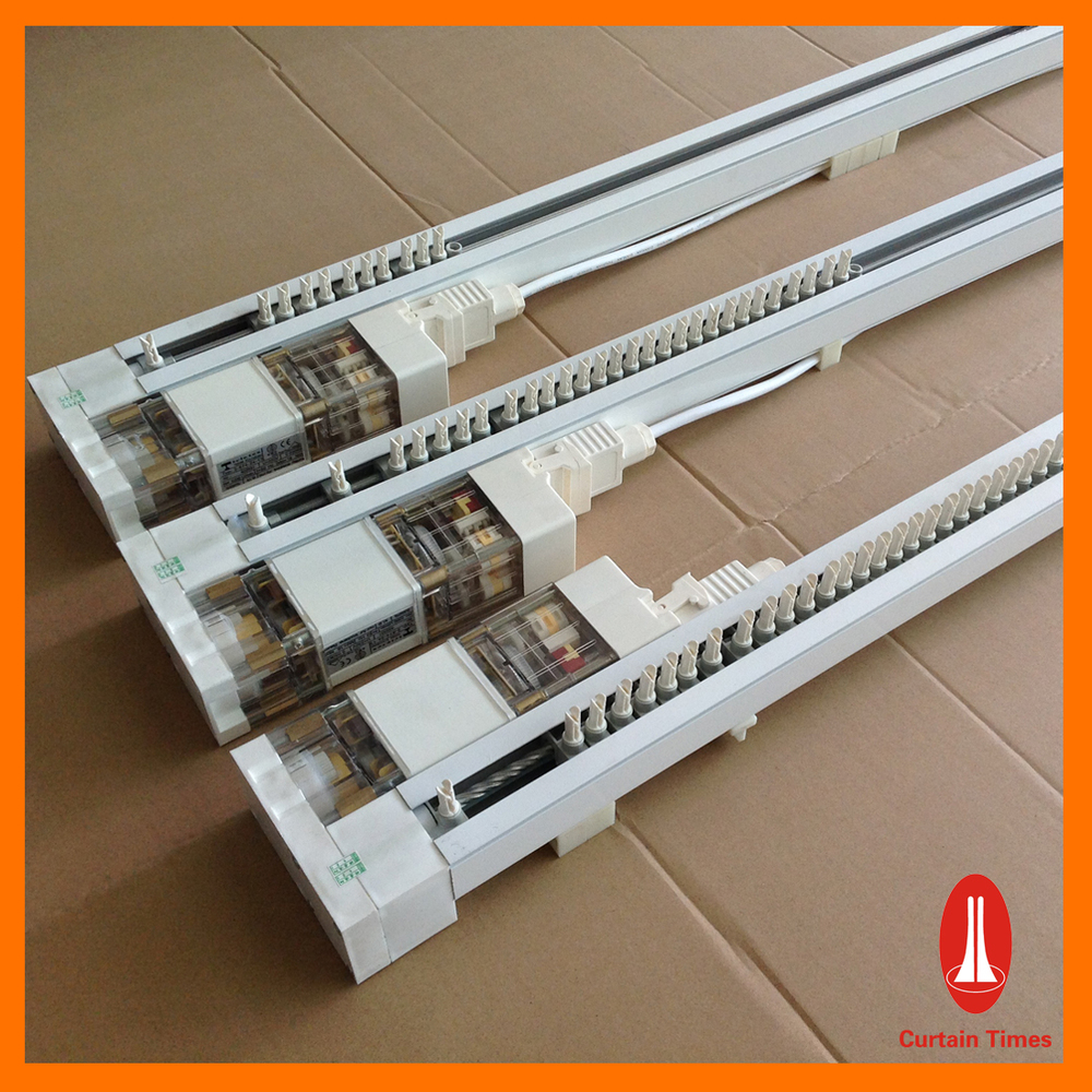 Curtain Times Vertical Folding Blinds Motorized For Office