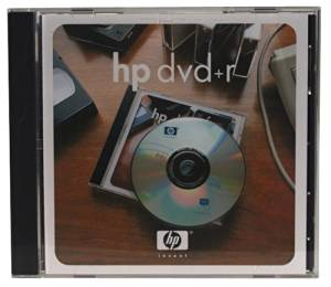 Hewlett Packard Single-Sided DVD+R (C8009A)