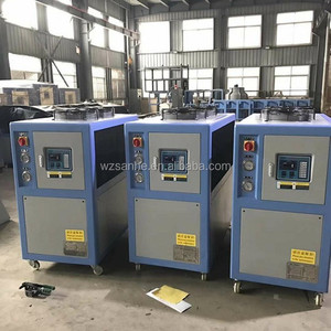 Injection molding machine using Mobile type Industrial Air chiller plant price