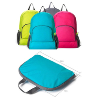 Cheap Custom outdoor sport hiking backpack cycling foldable backpack bag