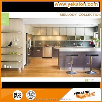 Standard Tinggi Aluminium Yang Modern Desain Dapur Restoran