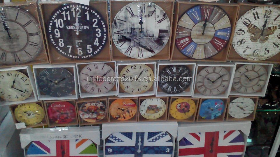 World map painted wall clocksantique wall clock wooden wall clock world map painted wall clocks antique wall clock wooden wall clock gumiabroncs Image collections