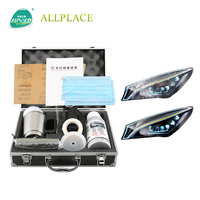 Car Headlight Glass coating Refurbishment Scratch Repair Headlight Kit