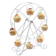 Different types home metal gold color crystal cake stand