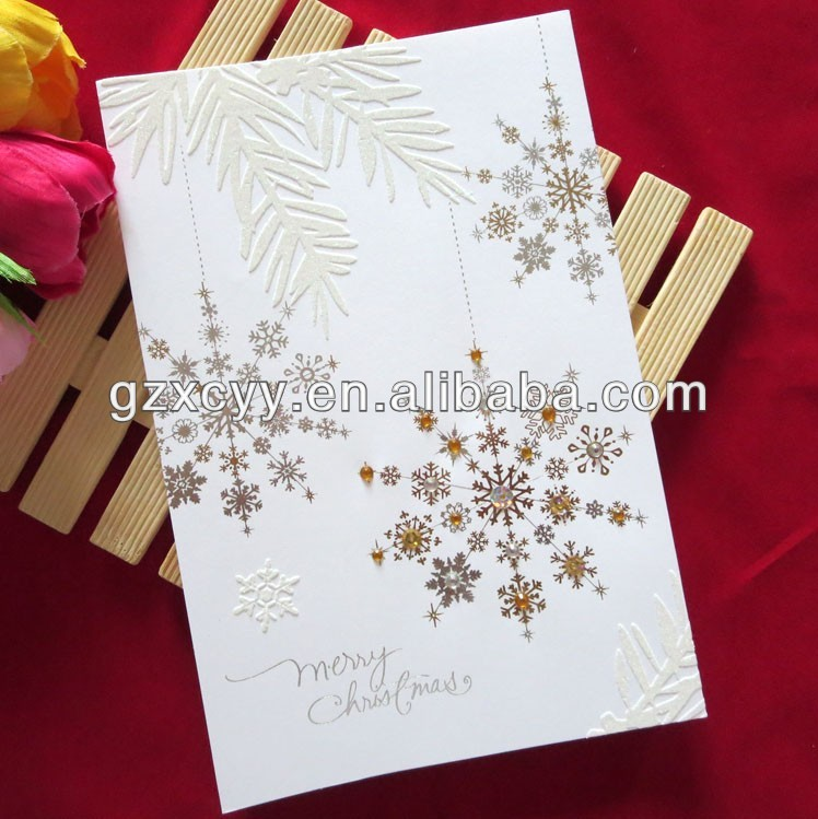 2013 handmade christmas greeting card for decoration