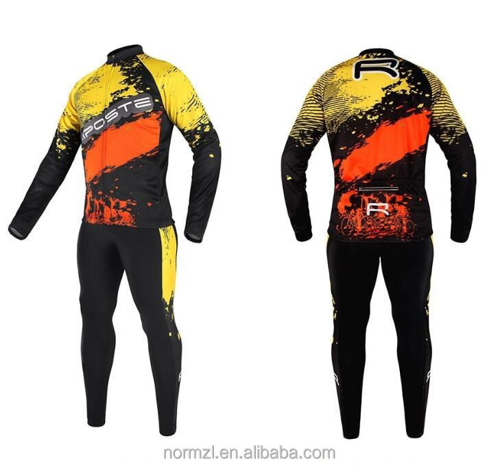 Sublimated pro team cycling wear shack cycling cuit jersey bib shorts bicycle clothes